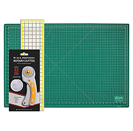 Fold-Away Portable Gridded Cutting Mat Non-Stick Iron Pressing Surface Crafter/'s