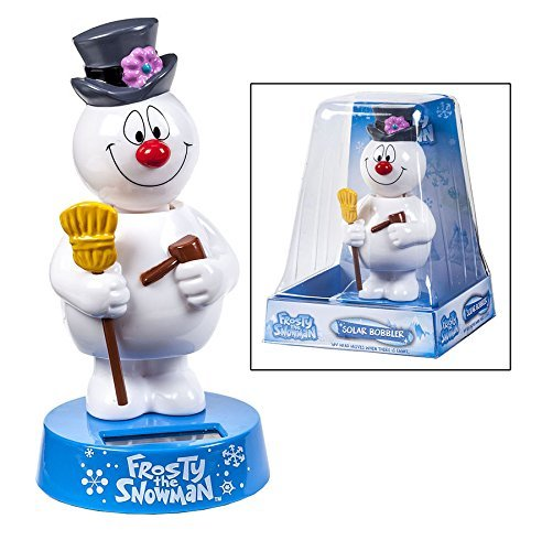 Frosty the Snowman Solar Bobble Head Bobbler