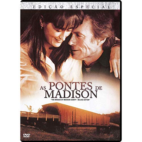 DVD As Pontes de Madison [ The Bridge's of Madison County ] [ Subtitles English, Portuguese, Japanese, Chinese, Korean, Thai ] Region 1 + 2 + 3 + 4 -  CLINT EASTWOOD, CLINT EASTWOOD