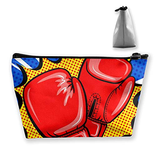 Womena € s Cosmetic Bag Boxing Gloves Makeup Bag Portable Toiletry Pouch Storage Pouch Storage Pouch