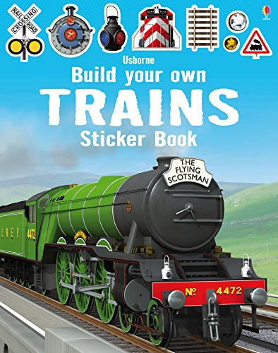 Build Your Own Trains Sticker Bo...