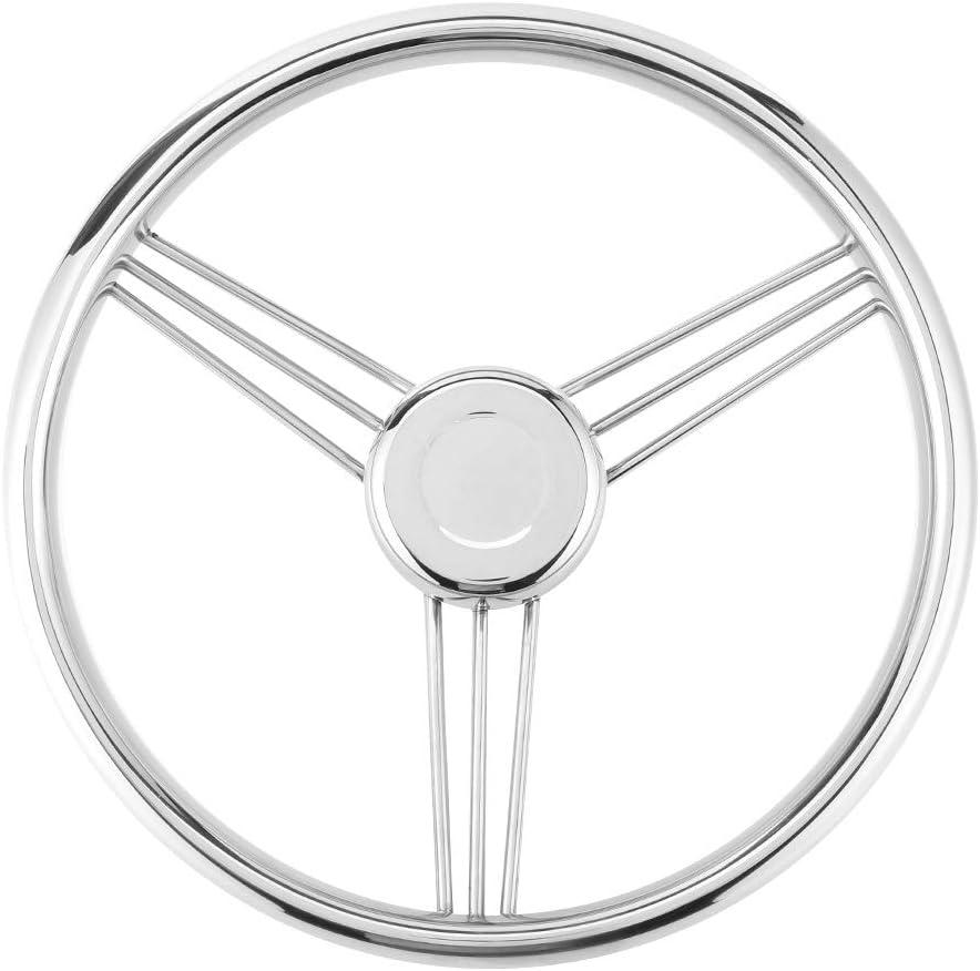 Yacht Steering Wheel Boat 15 Popular brand Max 70% OFF in the world ° Polishi Mirror