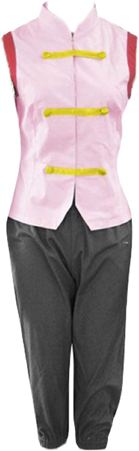 Dream2Reality Japanese Anime Naruto Cosplay Costume Tenten 1st Ver Kid Size Small