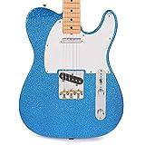 Fender J Mascis Telecaster Botella Rocket Azul Flake