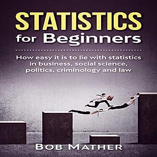 Statistics for Beginners audiobook cover art