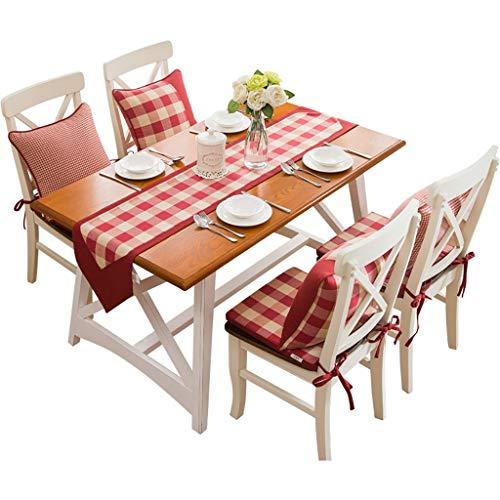 Chemin de table simple en coton utilisé pour la table à manger Table basse Table à chaussures Dressing Table Comptoir de bar 4 tailles à choisir (Taille : 32×180cm)
