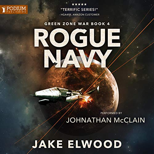 Rogue Navy audiobook cover art