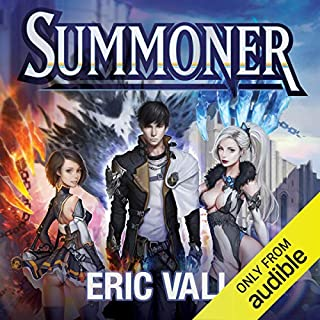 Summoner audiobook cover art