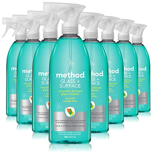 Our #7 Pick is the Method Natural Surface and Glass Cleaner