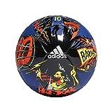 Adidas Hombre Balón Messi Mini, Top:Royal Blue/Black/Solar Yellow/Solar Red...