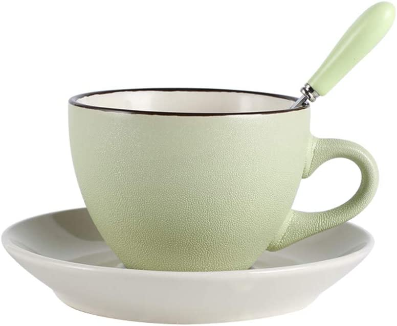 Ynsfree Ceramics Espresso Cups and Saucers Tea Set Cup San Jose Mall Coffee 100% quality warranty! Cu
