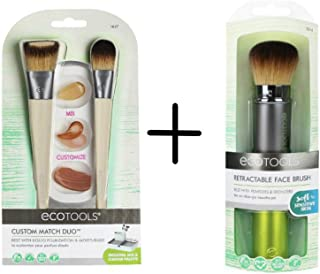 EcoTools Custom Match Duo Kit + Retractable Face Brush Value Set