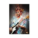 style42 Leinwand-Poster, Eric Clapton CBE, Wandkunst, Deko,