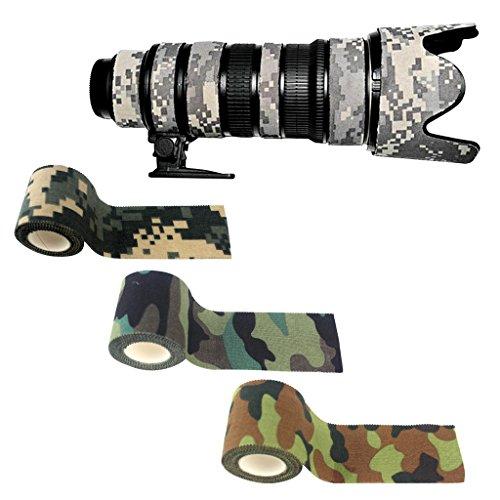 Toygogo Camouflage Tape Sportbandage Klebeband für Outdoor - ACU Tarnung