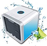 jecrina 3-in-1 USB Mini Portable Air Conditioner, Humidifier, Purifier and 7 Colours Nightstand