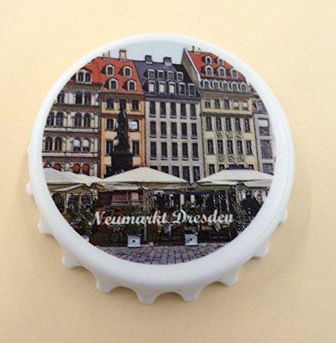 Kapselheber Cap, bedruckt mit Dresdenmotiv Neumarkt