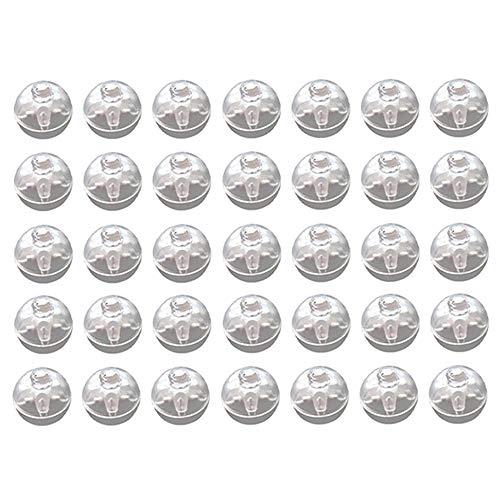 Amasawa 60 Stück LED Ballons Lichter, Mini Runde Ballon Lampe,Helle Mini Ballon Lampe Nachtlicht Licht Weihnachten Partei Geburtstag Dekor (Farbige Lichter)