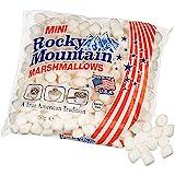 Rocky Mountain Marshmallows Mini 150g, dulces tradicionales americanos para asar en la hoguera, a la parrilla o al horno, 1x150g