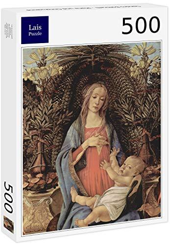Puzzle Sandro Botticelli   María y el Niño Jesús 500 Piezas