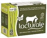 Lacturale leche semidesnatada UHT. Carton 6 bricks de leche (6 litros). Leche certificada en Producción Integrada de Navarra. Ingredientes: Leche de vaca. 100% natural