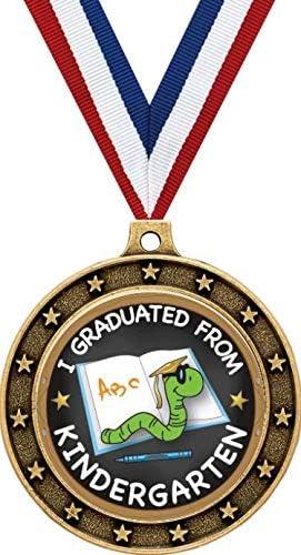 Gold Kindergarten Graduation Medals depot - Graduat Universe Star Challenge the lowest price of Japan 2.5