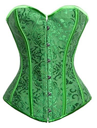 KuSen - Corsé - para mujer Verde verde