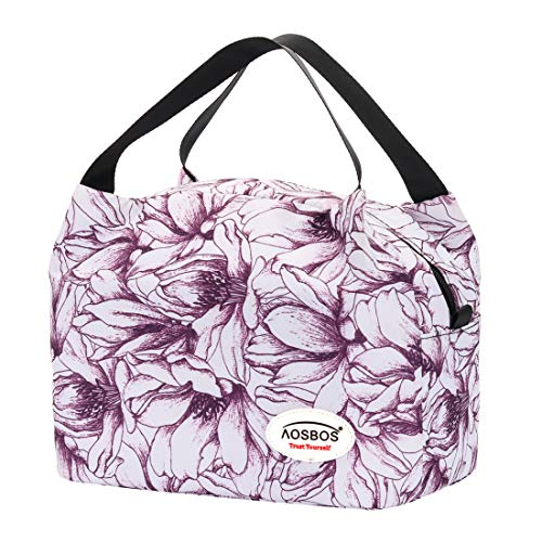 Aosbos Lunch Bags for Women Insu...