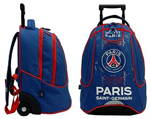 PSG Rucksack mit Rollen Offizielle Kollektion Paris-Saint-Germain