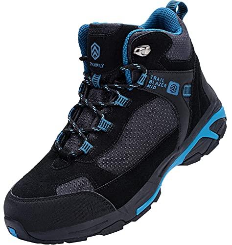 DURA-ANTISKID Botas de Seguridad Punta compuesta Hombre Zapatos de Seguridad SRC S1P Botas de Trabajo Zapatillas de Seguridad
