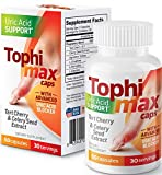 VasoCorp Tophimax Pain Relief | 60 Capsules Gout Pain Relief and Gout-Uric-Acid Pain Relief for feet, Gout Support for Burning Numbness Pain in Legs and feet Blocks Uric Acid Uptake Supplement