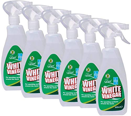 Dri Pak Estuche de 18 limpiadores de vinagre blanco limpio y natural,...