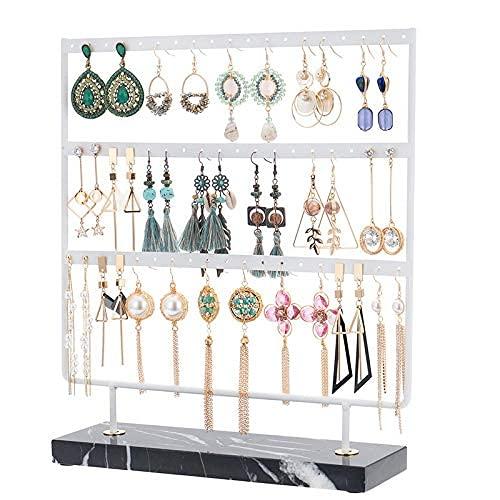 Asequibles Organizadores de joyería colgantes y almacenamiento de joyas de metal soporte de almacenamiento de joyas para collares y adornos soporte de exhibición de joyas