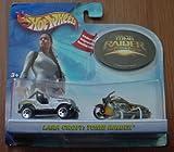 Hot Wheels Tomb Raider Lara Croft 2 Car Set Jeep Scorchin' Scooter