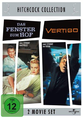 Hitchcock-Collection: Das Fenster zum Hof / Vertigo [2 DVDs]