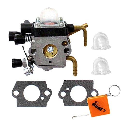 HURI Vergaser + Dichtung + Kraftstoffpumpe passend für Stihl HS81 HS81R HS81RC HS81T HS86 HS86R HS86T # ZAMA C1Q-S225