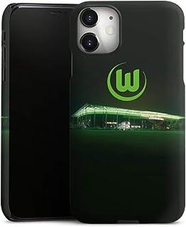 DeinDesign Premium Case kompatibel mit Apple iPhone 11 Smartphone Handyhülle Hülle matt Offizielles Lizenzprodukt VFL Wolfsburg Stadion