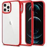 Spigen Ultra Hybrid Designed for iPhone 12 Pro Max Case (2020) - Red