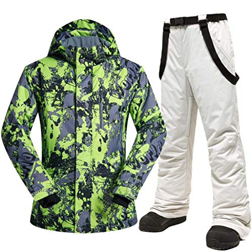 JXS-Outdoor Snowboard pak voor heren - jas en broek - winterjassen ski - geïsoleerd winddicht waterdicht