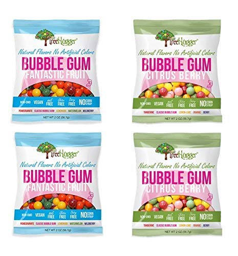 Tree Hugger Popular popular Bubble Gum - Variety Pack New Free Shipping Oz 2 bags Set of 4