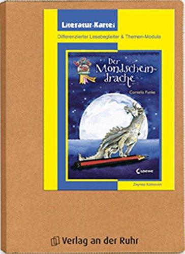 """""""Der Mondscheindrache"""": Differenzierter Lesebegleiter und Themen-Module (Literatur-Kartei)"""