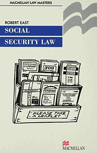 Social Security Law (Palgrave Law Masters)