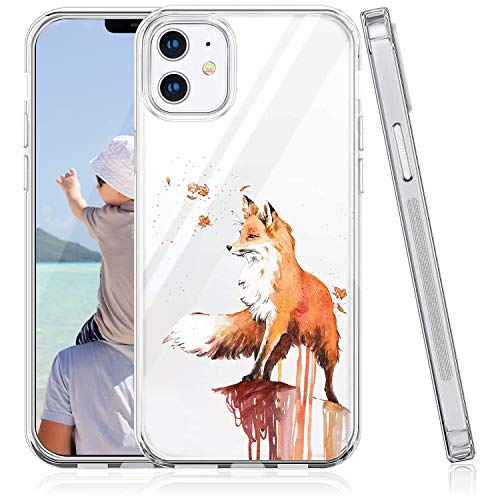 Oihxse Funda de repuesto para iPhone 12 Mini, transparente, de silicona, transparente, original, suave, antigolpes, antiarañazos, antiarañazos, A7