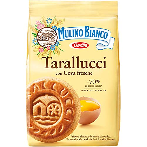 Mulino Bianco Barilla Tarallucci, 350 Gramos