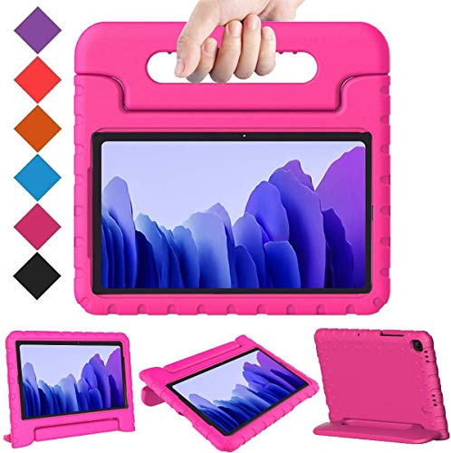 BMOUO Samsung Galaxy Tab A7 Case for Kids, Samsung Tab A7 10.4 Case 2020, Lightweight Shockproof Convertible Handle Stand Kids Case for Samsung Galaxy Tab A7 10.4 inch 2020 (SM-T500/T505/T507) - Rose