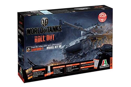 Italeri 36507 - World Of Tanks Leopard 1a2 Model Kit Scala 1:35