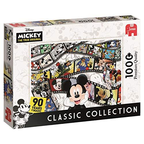ディズニー クラシックコレクション ミッキー 90周年記念 ジャンボ 19493-1000ピース ジグソーパズル
