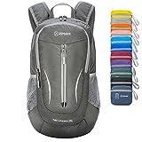 ZOMAKE Ultra Lightweight Packable Rucksack, 25L Klein Wasserfest Wandern Daypack Faltbarer...