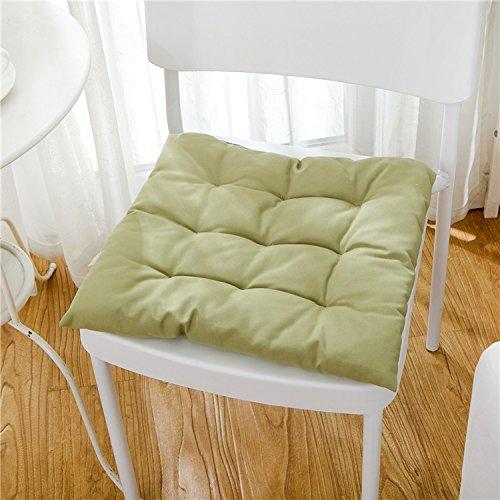 Baozengry Chaise De Bureau, Coussin De Siège,50X50Cm,Couleur Vert