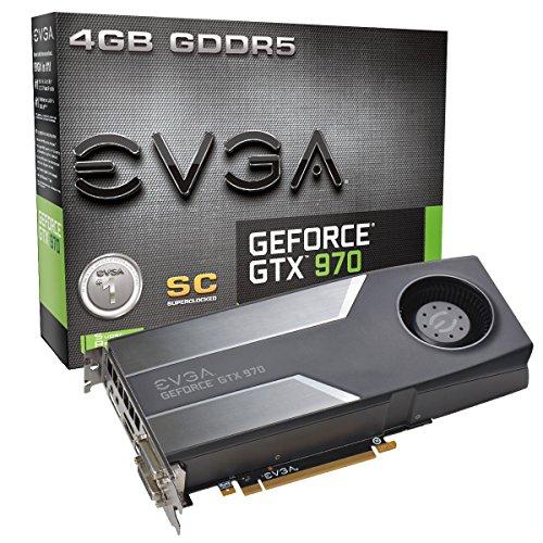 EVGA Nvidia GeForce GTX 970 Superclocked 4GB Scheda Grafica