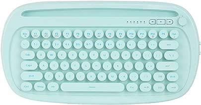 Docooler FD K510D Kabellose BT-Tastatur Schwarz Wei Rosa Gr n Dual-Mode Multi-Device-Switch-Hintergrundbeleuchtung Ergonomisches Design f r Tablet Laptop und Smartphones Schätzpreis : 54,99 €